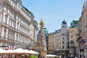 Shoppingmeile Graben in Wien